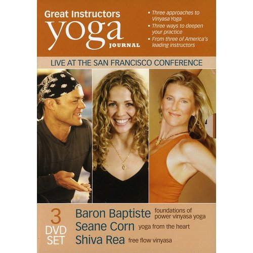 Yoga Journal: Great Instructors - Live At The San Francisco Conference (Full Frame)