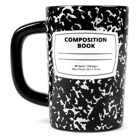 19674ca7c70 Out of Print 12oz Hot / Cold, Print Design Ceramic Coffee Mugs - Walmart.com