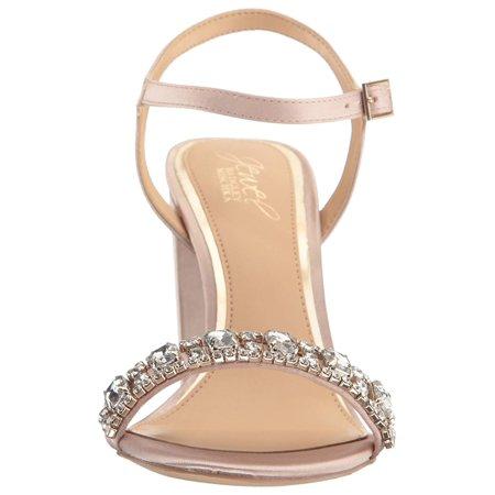 be15603cb35 BADGLEY MISCHKA Womens Hendricks Open Toe Special Occasion - image 1 of 2  ...