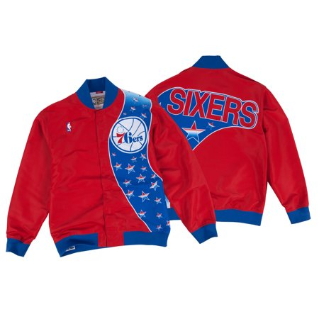 Philadelphia 76ers Mitchell & Ness Authentic 93-94 Warmup Premium Jacket by