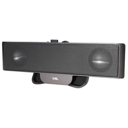 Cyber Acoustics Portable USB Laptop Speaker - Made for Notebook Travel - Laptop Notebook Speakers