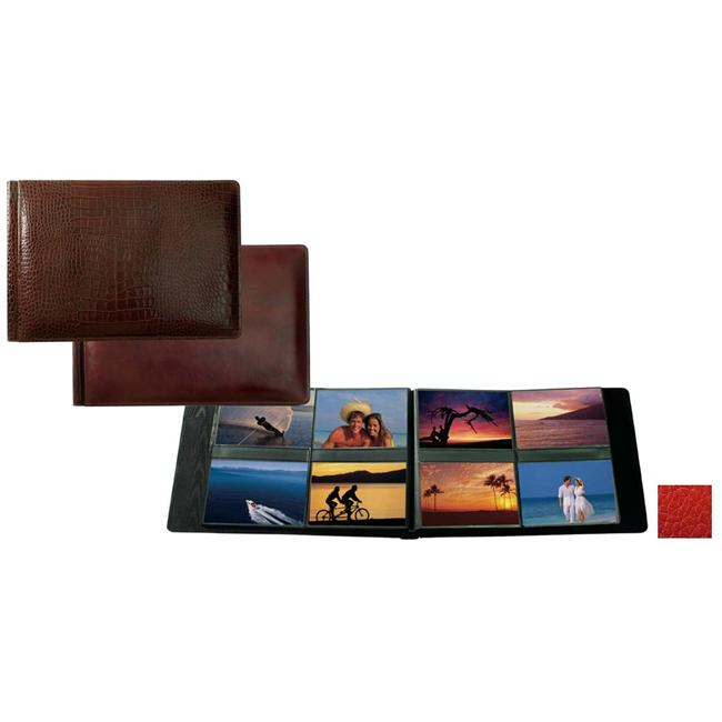Raika RO 178 RED 4in. x 6in. Album with 8 Photos - Red