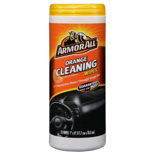 Armor All Air Freshening Cleaning Wipes, Orange Scent, 25 count by Armor All