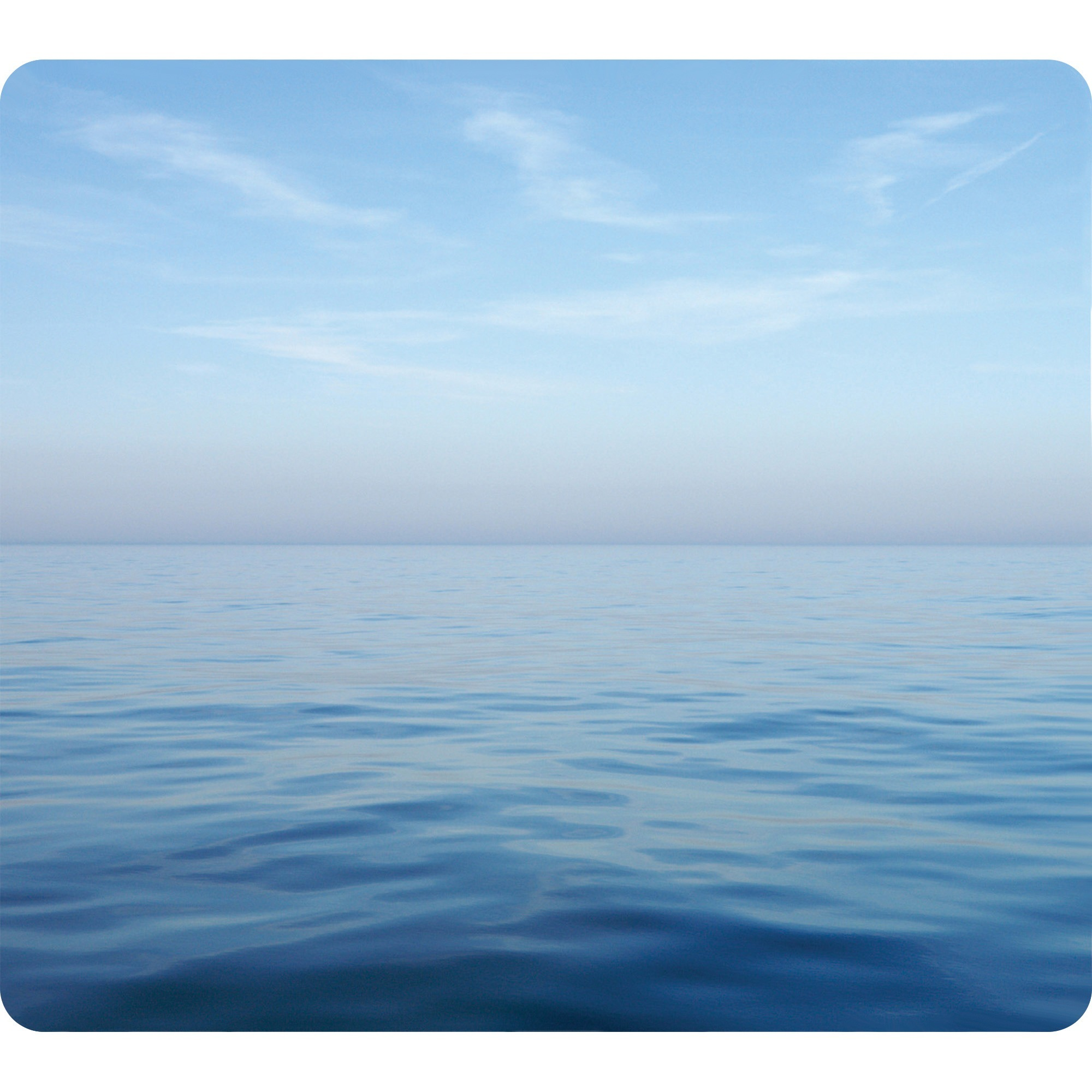 Fellowes, FEL5903901, Recycled Mouse Pad - Blue Ocean, 1, Multicolor