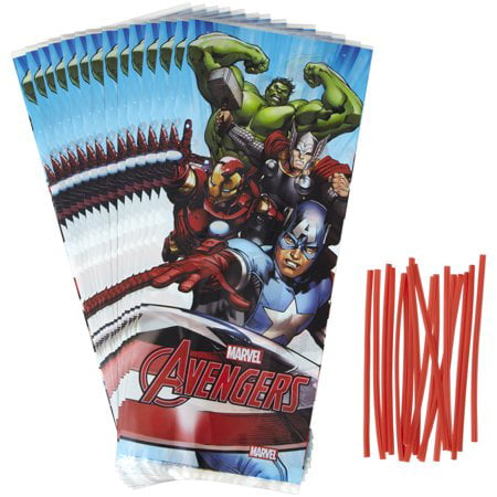 Avengers Party Ideas ((3 Pack) Wilton Avengers Treat)