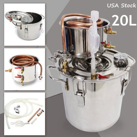 Pathonor 5 Gal Water Alcohol Wine Distiller Moonshine Still Boiler ...