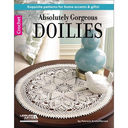 Doilies Leisure Arts - Leisure Arts-Absolutely Gorgeous Doilies