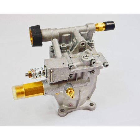 "✦ NEW - Premium - Cold Water - Gasoline - Pressure Washer - Replacement - Axial Horizontal Pump 3/4"" Shaft - 2800-3000 PSI 2.3 GPM Aluminum Head - Simpson -Briggs&Stratton -Ryobi - PEGGAS ✦"