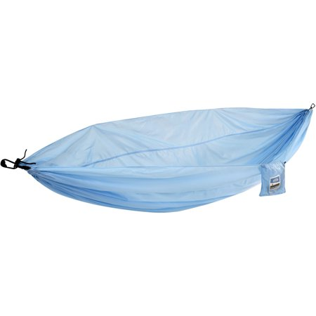 - Equip 2-Person Durable Nylon Portable Hammock for Camping, Hiking, Backpacking, Travel, Includes Hanging Kit