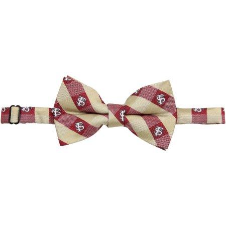 State Seminoles Tie (Florida State Seminoles Check Bow Tie - No Size )