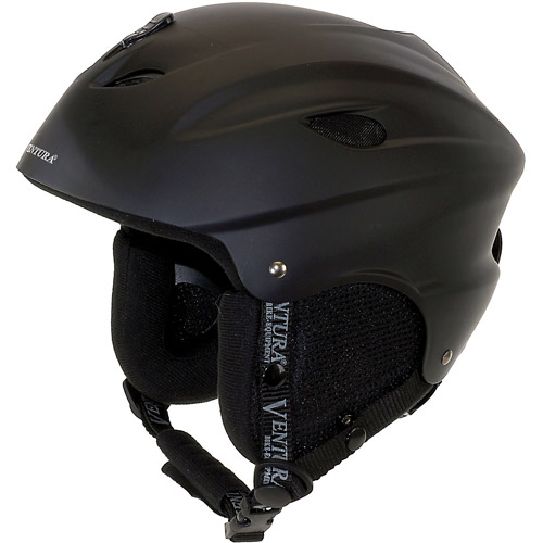 Ventura Skiing Snowboarding Black Helmet, Youth by Generic