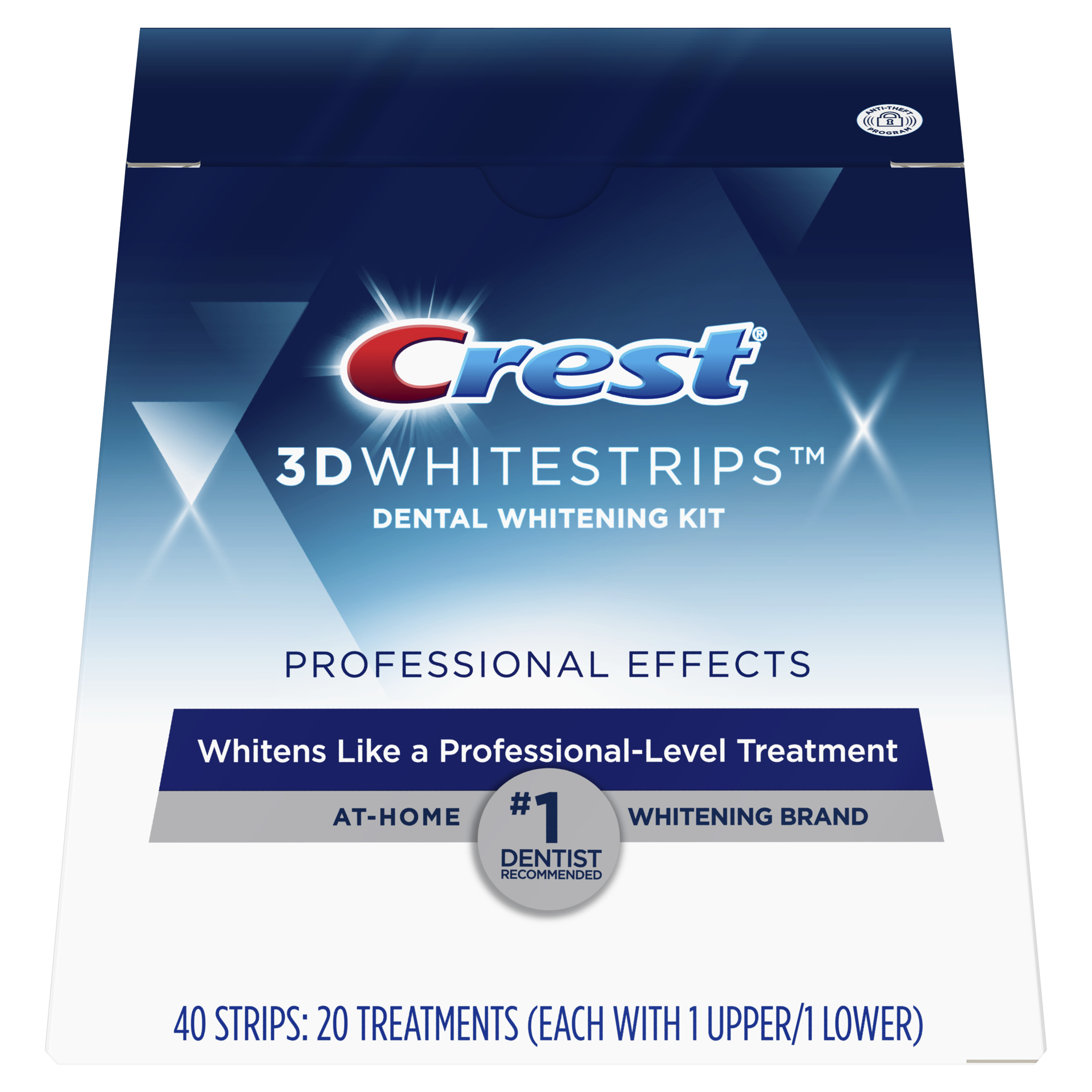 photograph about Crest White Strips Printable Coupon identified as Crest 3D Whitestrips Proficient Consequences Enamel Whitening Strips Package, 20 Solutions