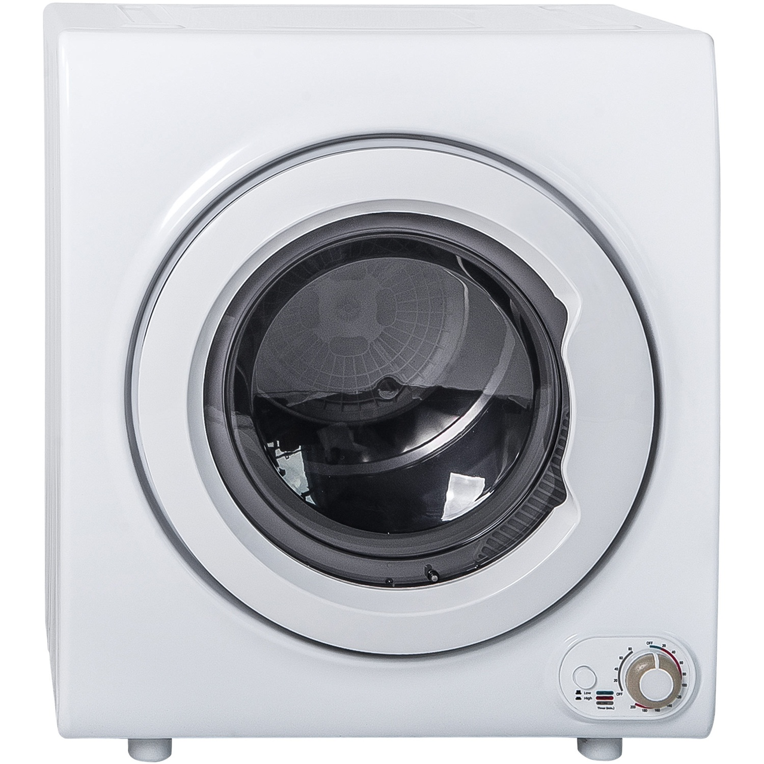 Stainless Steel Tub and 4 Automatic Drying Mode 2.65 Cu.Ft 1400W Compact Laundry Dryer with Sensor System 110V /& 120V AICOOK Clothes Dryer 9 lbs Load Portable Dryer for Apartments