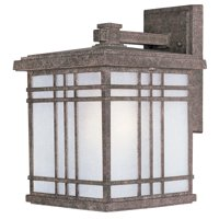 """Maxim 3324 Earth Tone / Frosted Seedy Glass Sienna 13"""" 1 Light Wall Sconce"""