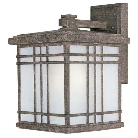 Maxim Lighting-Sienna - One Light Medium Outdoor Wall Mount  Earth Frost Glass Tech Lighting