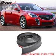 100 Inch Foam Front Bumper Lip Splitter Chin Spoiler Body Valance Fit Buick EZ