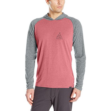 Columbia Men's Trail Shaker Hoody, Red Element Heather/Camp, Large - image 1 of 1