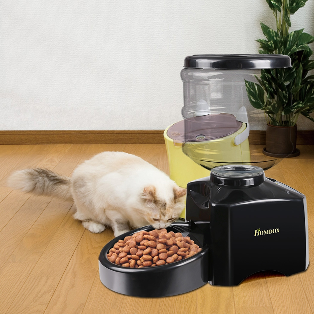 Automatic Pet Feeder Dog Cat Dry Food Portion Control ,  ...