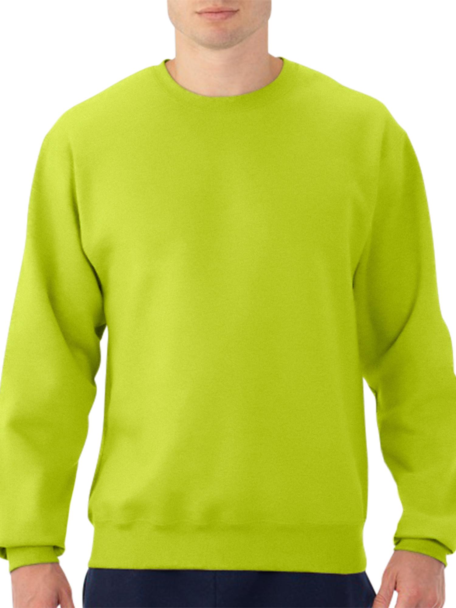 Fruit of the Loom Big Men's Dual Defense EverSoft Crew Sweatshirt