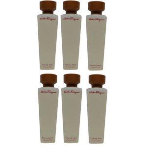 Salvatore Ferragamo Tuscan Soul Shower Gel lot of 6 ea 2.5oz bottles Total 15oz