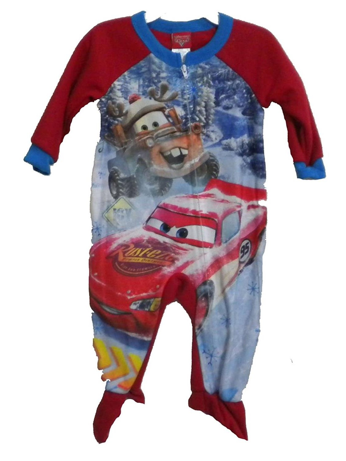 Cars Little Boys' Toddler Footed Blanket Sleeper