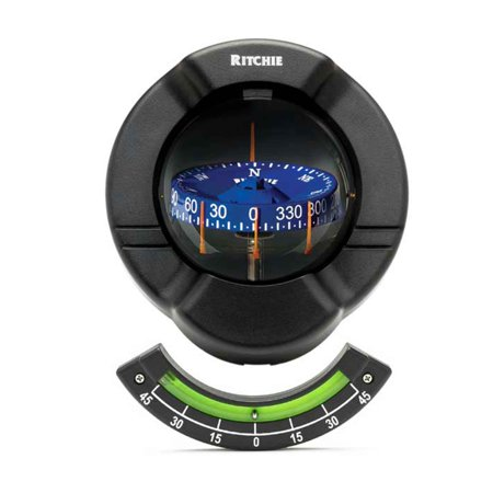 Sr2 Marine Venture Compass Bulkhead Mount for Sailboat - Ritchie FO-3237 Bulkhead Mount Compass