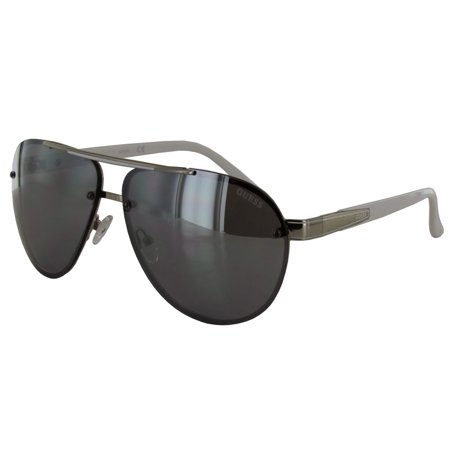 Guess Mens GF0165 Aviator Wire Frame Fashion Sunglasses ...