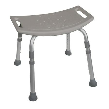 Deluxe K.D. Aluminum Bath Bench without Back - 1 Each / Each - 43-2402