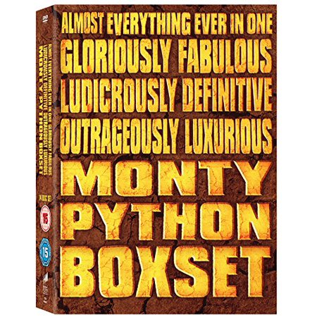 Python Collection - Monty Python: Almost Everything Collection - 14-DVD Box Set ( Monty Python's Flying Circus / Monty Python and the Holy Grail / Life of Brian / Th [ NON-USA FORMAT, PAL, Reg.2 Import - United Kingdom ]