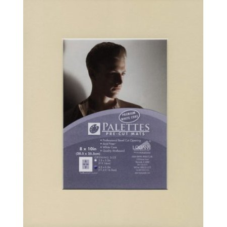 Palettes Pre-Cut Mat- Creme 16x20 Inch (10.5x13.5 Inch Window)