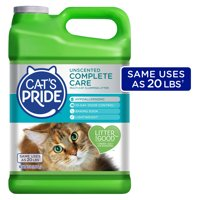 Cats Pride Complete Care Unscented Multi-Cat Clumping Litter, Hypoallergenic and Lightweight, 10 lbs.