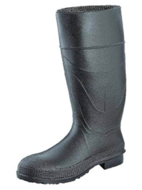 Servus 617-18821-BLM-070 7 in. Comfort Technology Economy Safety Knee Boots for Men, Black