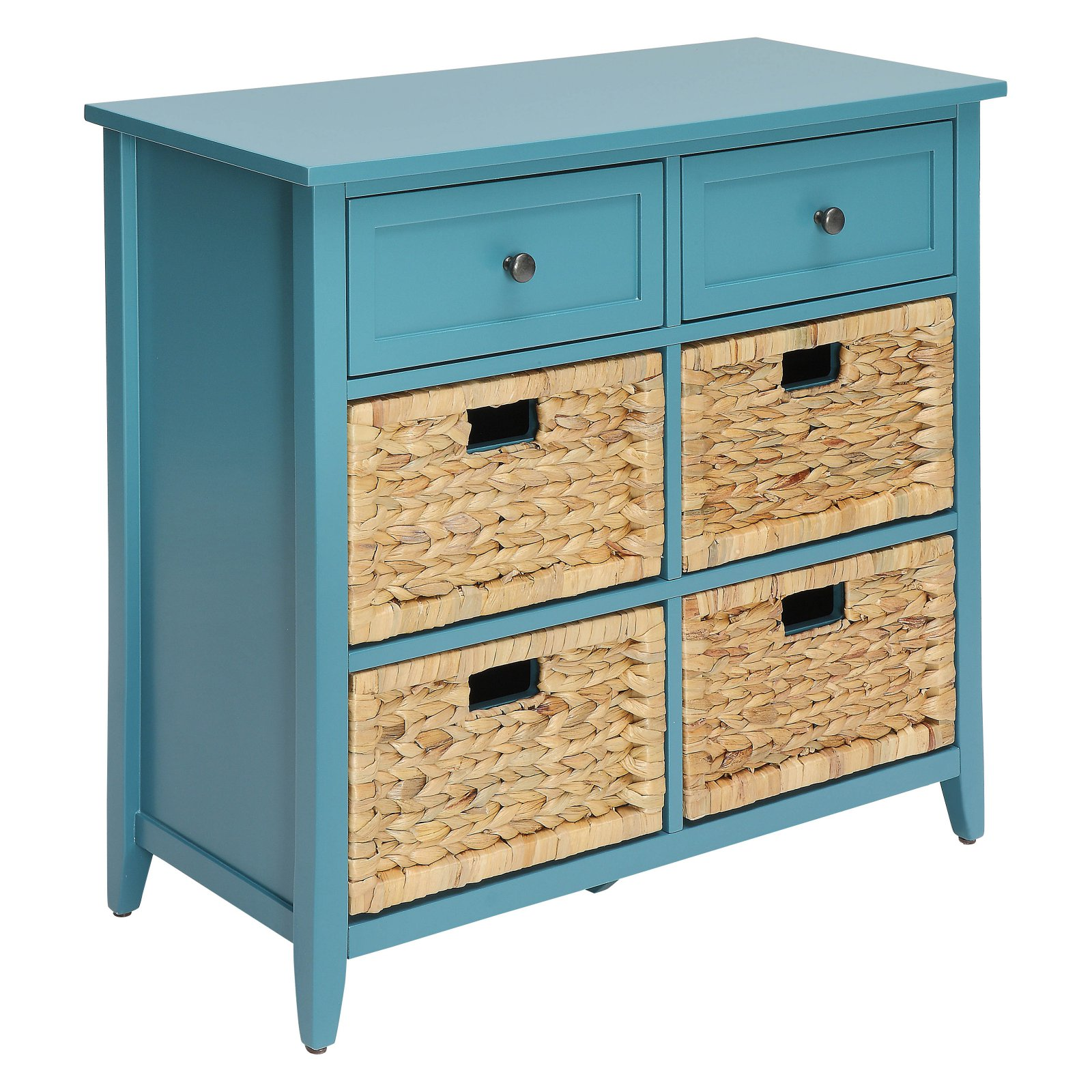 ACME Filbert Console Table, Teal