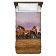 Wild Wings Sunset Cruise 2 Twin Duvet Cover White 68X88