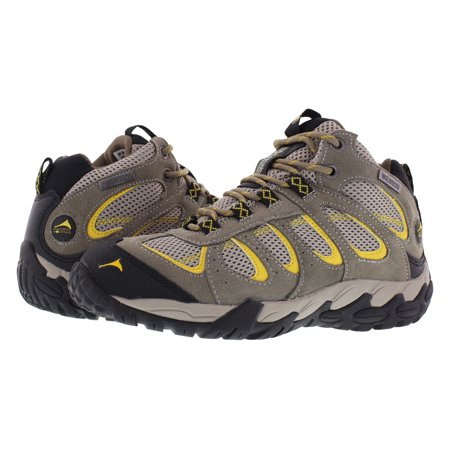 Pacific Mountain Moraine Women's Waterproof Hiking Backpacking Mid-Cut Grey/Black/YelMid Boots Size