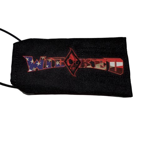 Wicked Sports Paintball Barrel Cover / Sock - WS Logo - American Flag - Sports Flags Coupon Code
