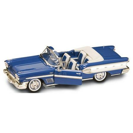Yat Ming Diecast Metal 1958 Pontiac Bonneville - 1:18 Scale -