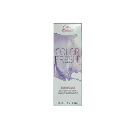 Wella - Wella Color Fresh Semi-Permanent Color 0 8 pH 6.5 Silver - Pearl  (2.5 fl oz) - Walmart.com ec46df3a00bd