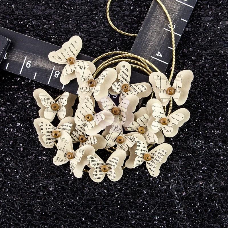 Nutmeg Paper Butterflies - Hillsboro - Prima