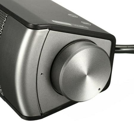 MIDAS-2.0 USB Multimedia h Sound Bar Speaker Soundbar For Smart Phone Computer Desktop PC Laptop - image 8 of 10