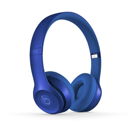 beats dr  dre solo2 wired on-ear headphones wired headband blue sapphire -  walmart com
