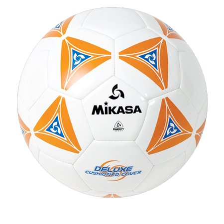 Soccer Ball by Mikasa Sports - SS Series Size 4, Orange/White
