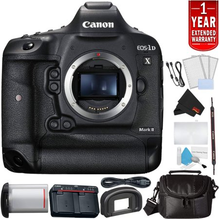 Canon EOS-1D X Mark II Digital SLR Camera (Body Only) Bundle with Carrying Case + More (International