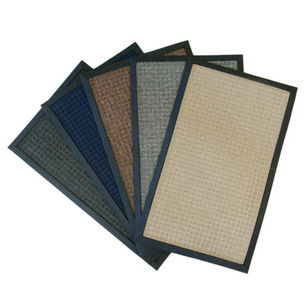 Rubber Cal Nottingham Backed Carpet Mat 16 X 24 Inches