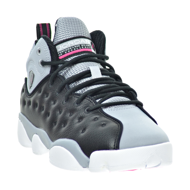 6935ca86165 ... free shipping jordan jumpman team ii gg black pink wolf big kids shoes  black pink c08b9