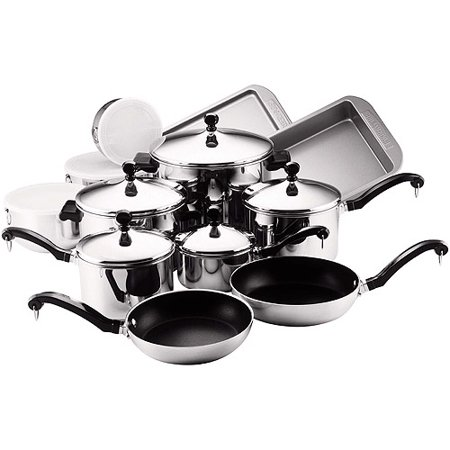 classic stainless steel nonstick cookware