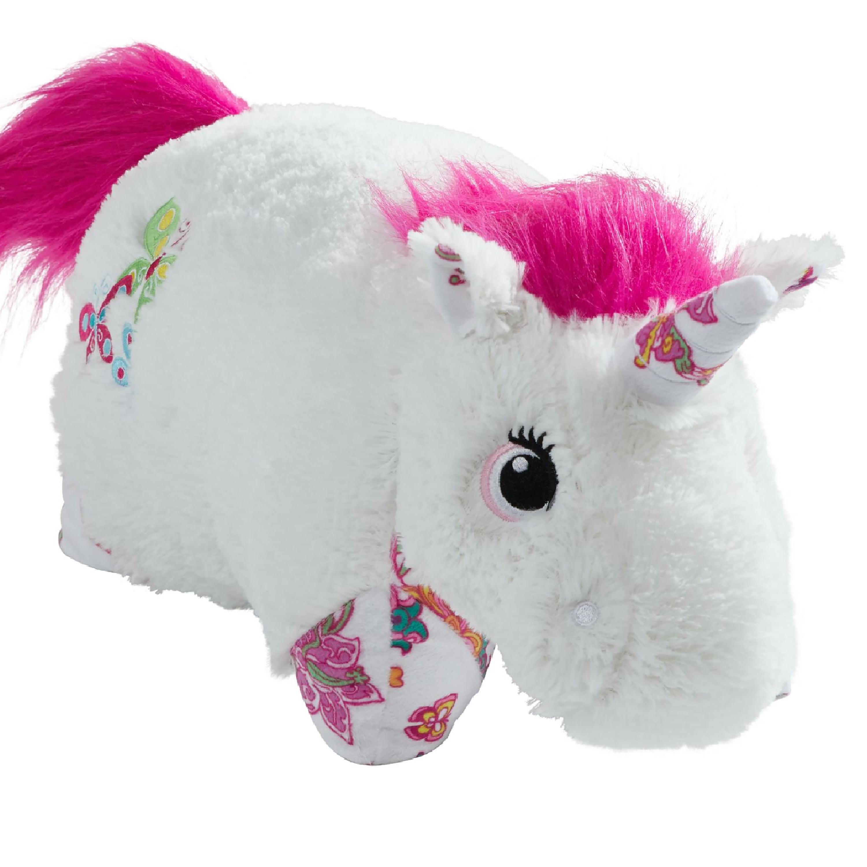 "Pillow Pets 18"" Lavender Unicorn Stuffed Animal Plush Toy Pillow Pet by CJ Products"