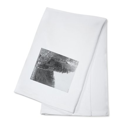 Castle Rock between Hill City and Rockerville Photograph (100% Cotton Kitchen Towel)