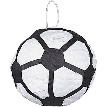 Soccer Ball Pinata, Black & White, 10in](Soccer Pinata)