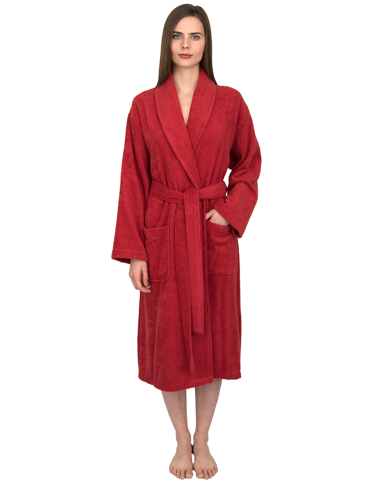 Turkish Cotton Terry Shawl Bathrobe TowelSelections Men/'s Robe